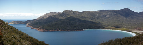 Panorama - Wineglass Bay Track - Freycinet Peninsula