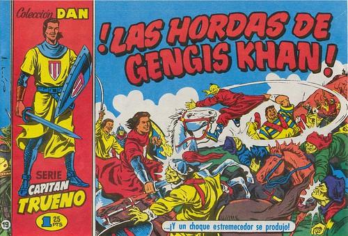 032-El Capitan Trueno nº19-portada-1956