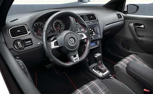 volkswagen polo gti interior. 2011 VW Polo GTI Interior