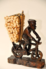 Loaded Malawian Bike (john a d willis) Tags: bike model carving malawi minibike topshots