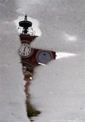 1 buco nel cielo (NeuroViola) Tags: italy italia piemonte piedmont alessandria riflesso pozzanghera comune