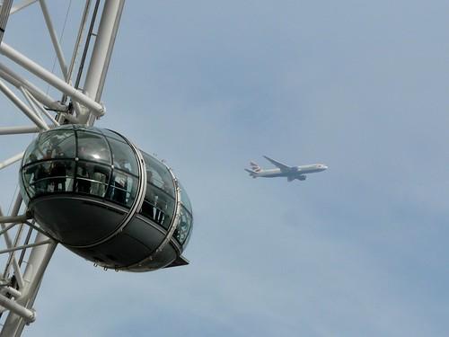 Voando para Londres