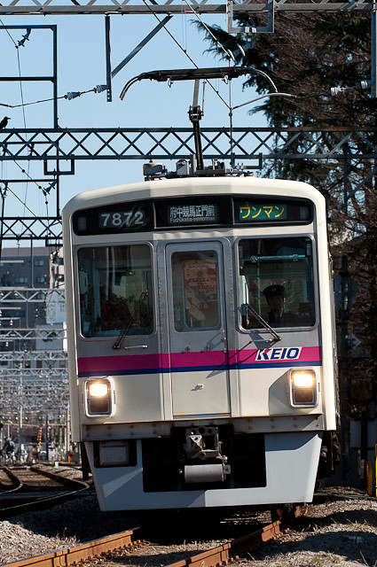 京王電鉄7000系 7422F 競馬場線