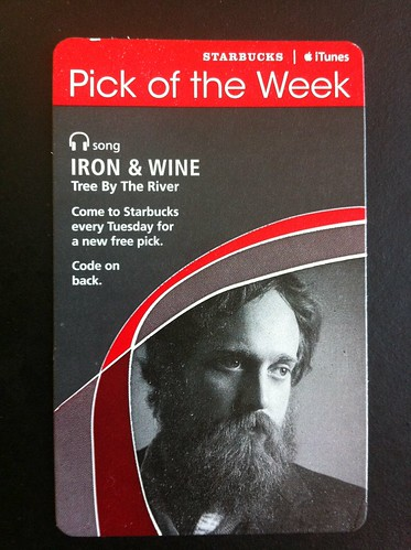 Starbucks iTunes Pick of Week - Iron & Wine - Tree By The River