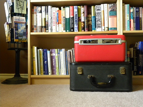 Suitcases and Books
