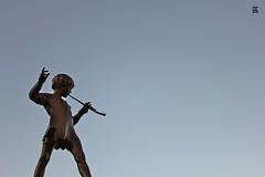 Peter Pan (rah studios) Tags: statue iron pipe peterpan peter pan