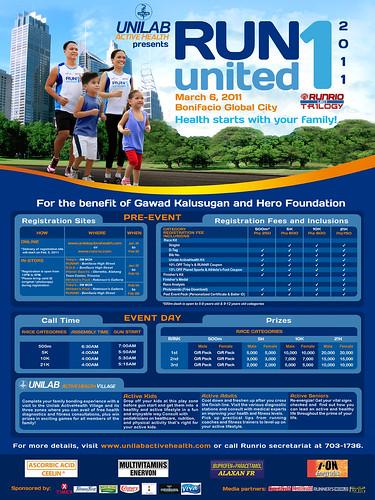 Unilab Run United 1 2011