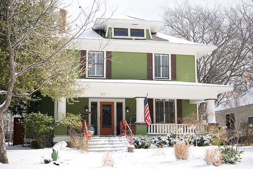 winter curb appeal