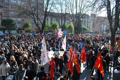 La lucha obrera se intensifica en Asturies 5418751870_556816d5b4