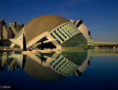 REFLEJOS (Silencio3) Tags: las valencia de arquitectura agua arte ciudad artes reflejos