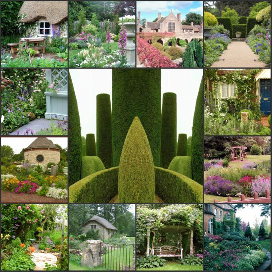 English Garden Mosaic