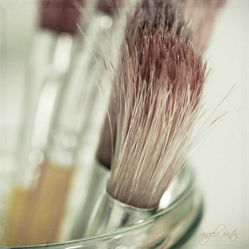 Brushes at the ready