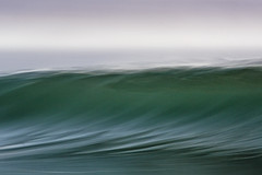 hazy half second (laatideon) Tags: sea blur canon surf slow wave overcast panned etcetc newvision 100400l 5sec intentionalcameramovement laatideon deonlategan peregrino27newvision