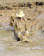 33 WS Awesome feeling hitting mud water (Wrangswet) Tags: wet mud hiking wetlook wallow riverhike swimmingfullyclothed muddycowboy wetcowboy swimminginjeans muddycowboyboots mudwallow wetwranglerjeans muddywranglerjeans muddyswimmingfullyclothed