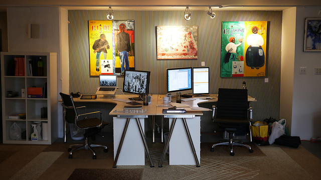 Gesture Theory Office Space Completed