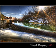 Another little waterfall - HDR - Cuneo - Italy - River Park - Parco Fluviale (Margall photography) Tags: sun canon photography canal waterfall fiume sigma marco sole 1020 hdr irrigation canale manfrotto 30d chiusa marumi irrigazione galletto nd8 margall xprob mygearandme raysraggi