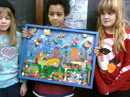 """Murch of the Future"" 18X24 4th Grade Class"