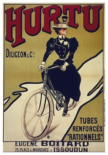 012-Carteles de bicicletas antiguas