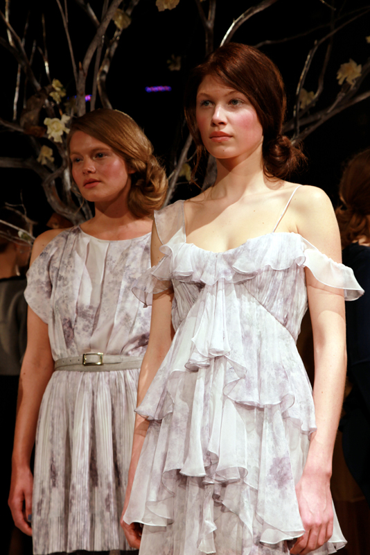 joycioci_ruffledress - autumn/winter 2011