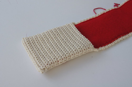 Crochet Oyster card/credit card holder