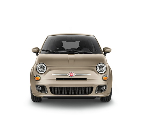 New 2012 Fiat 500 in Mocha Latte