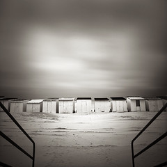 Beach Houses#2 (Laurent Miaille) Tags: houses beach beachhuts calais waterscapes pasdecalais beachhouses plages cabanes cabines laurentmiaille