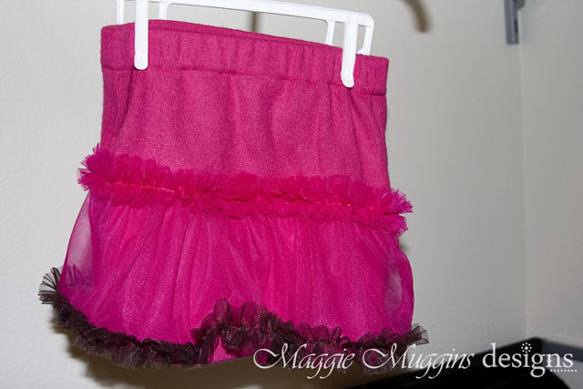 Ruffle Sweater Skirt