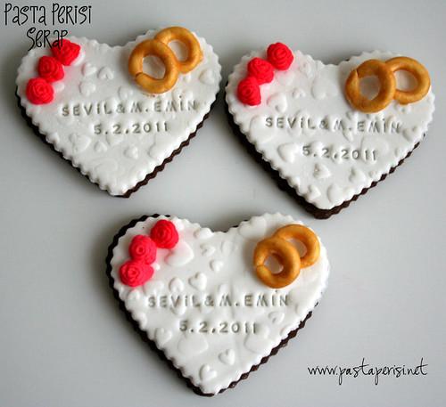 söz- nişan kurabiye