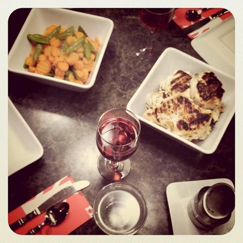 . dinner .