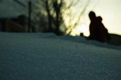 close to the snow (taka hisa) Tags: snow digital town nikon hokkaido close time nikkor otaru nikkorlens d40 nikond40