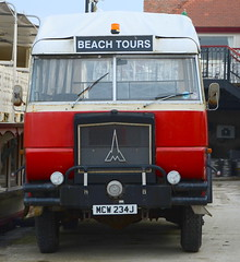 Old Beach Tours Bus Southport (TopSausageLobber) Tags: pictures park travel autumn winter sunset sea summer vacation lighthouse holiday color bus art beach church water birds wales race port trek woodland walking photography bay coast spring sand rocks walks track waves colours bosom harbour path military south bridges chapel cliffs stack climbing lorry coastal moors coastline tours base southport touring marinelake mawr merseyside anglesey holyhead abrahams counry penrhyn rhosneigr