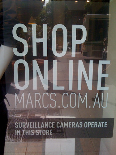 Marcs says shop online