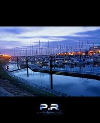 El puerto (V) (Pablo · Ronald) Tags: blue light sky españa luz water azul boats puerto others spain agua otros huelva cielo nubes seda reflejos reflects ayamonte fros bracos pabloronald