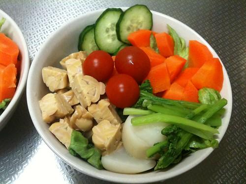 朝食サラダ(2011/2/20)