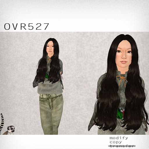 booN OVR527 hair