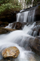 Crow Creek Falls (John Cothron) Tags: winter usa cold nature water forest georgia waterfall outdoor environment protected crowcreek rabuncounty lakemont crowcreekfalls chattahoocheeoconeenationalforest johncothron crowcreekroad cothronphotography