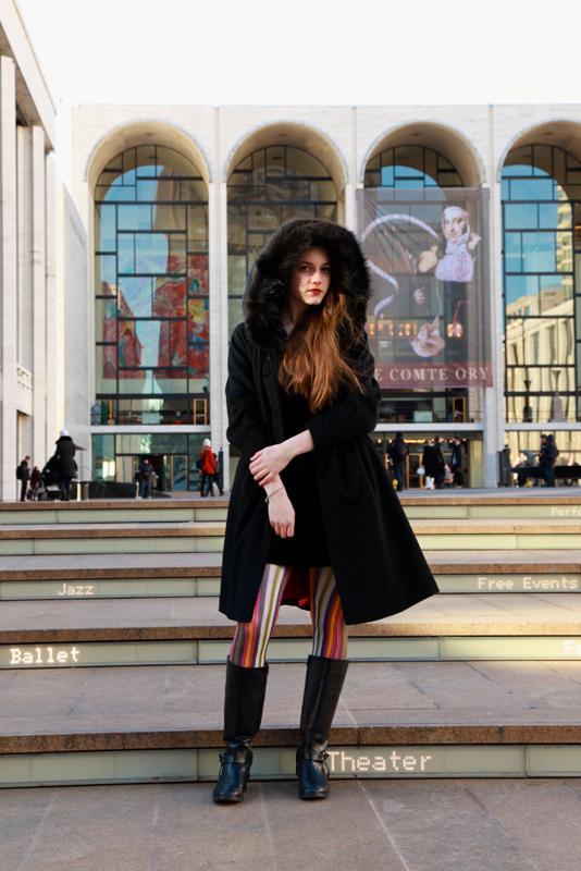 audrina - nyc street fashion style