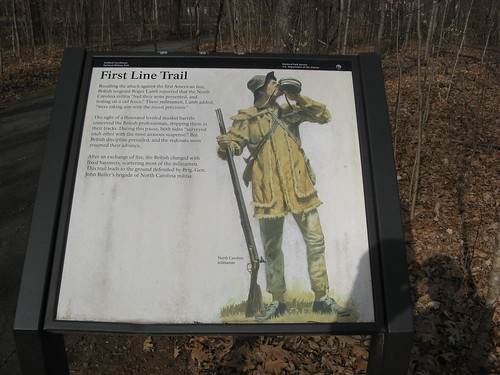 First Line trail