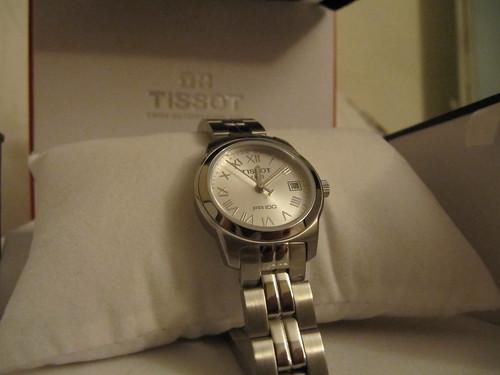 tissot watch present pr 100