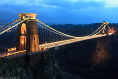 Clifton Suspension bridge -Bristol (Hadi Al-Sinan Photography) Tags: bridge canon bristol photography long exposure suspension mark ii 5d f22 suspended clifton hadi 2470mm 2011 alsinan hecliftonsuspensionbridgeisasuspensionbridgespanningtheavongorge