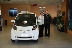 El primer i-MiEV entregado a un cliente particular en España
