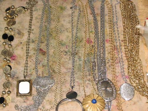 gold and diamond Art Nouveau decorative arts