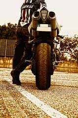 Yamaha R1 2007 (Gabriele Sblendorio) Tags: moto r1 rider motociclista dainese yamahar1 gabrielesblendorio