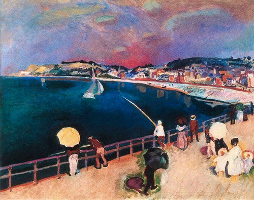 Dufy, Raoul  - The bay of Sainte-Adresse