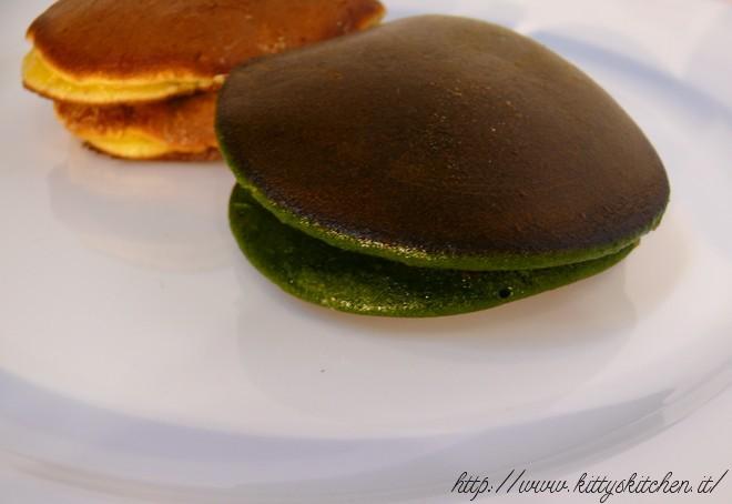 Dorayaki al tè verde