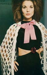 Elsa Martinelli (Famous Fashionistas (First)) Tags: vogue 1965 yvessaintlaurent davidbailey vintagefashion vintagemagazine elsamartinelli 1960s ukvogue 1960sfashion