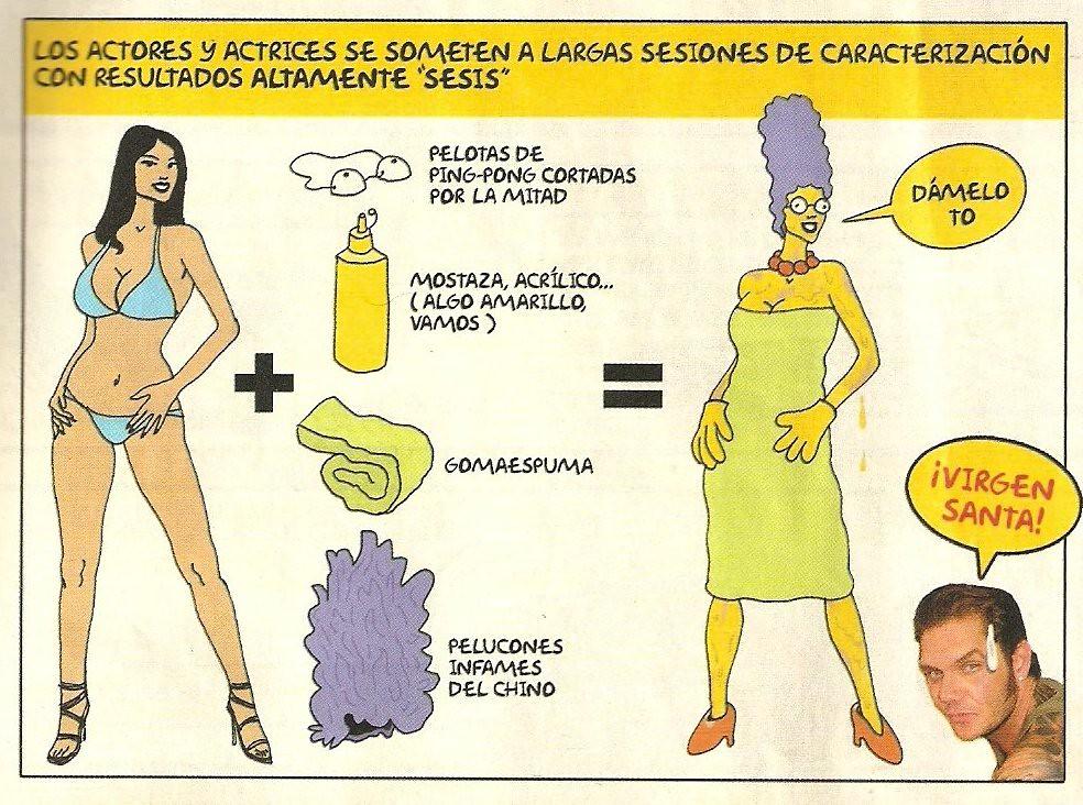 Los Simpsons En La Revista El Jueves