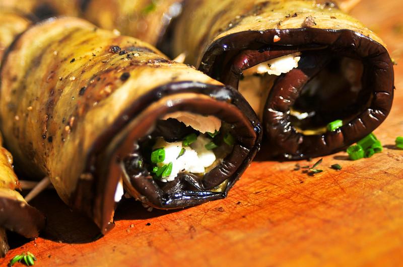 Eggplant Spirals