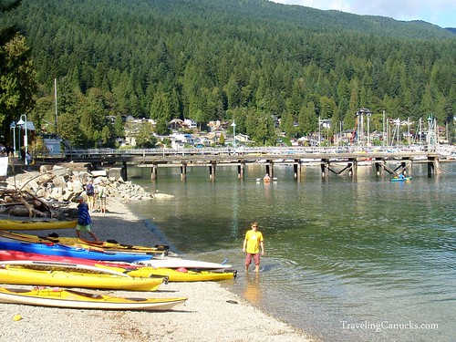 Kayaking in Deep Cove, North Vancouver