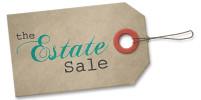 the Estate Sale: White Ceramic Table Lamp